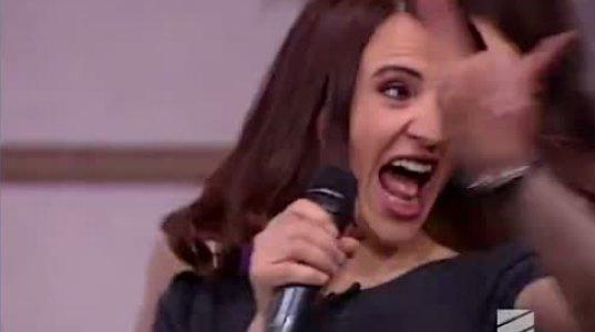 """""""ჩემი ცოლის დაქალების"""" მსახიობების სიმღერა ვანოს შოუში"""