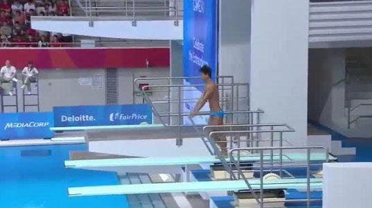 ამ სპორტსმენების წყალში ხტომის ილეთები, მსოფლიო სპორტის ისტორიაში პირველია