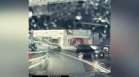 იაპონიაში სათვალთვალო კამერამ ტელეპორტაცია დააფიქსირა