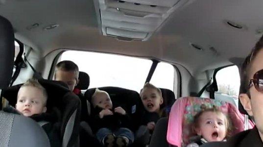 5 შვილის მამის პოზიტივი მოგხიბლავთ და გაგამხიარულებთ