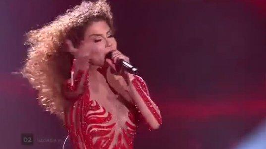 Tamara Gachechiladze - Keep The Faith (Georgia) LIVE at the first Semi