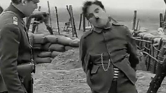 ჩარლი ჩაპლინის სასაცილო აქტი ფილმიდან
