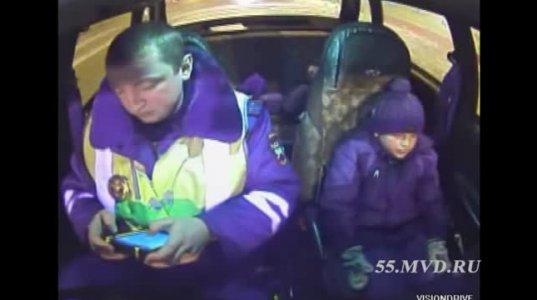 პოლიციელები და დაკარგული ბავშვი...