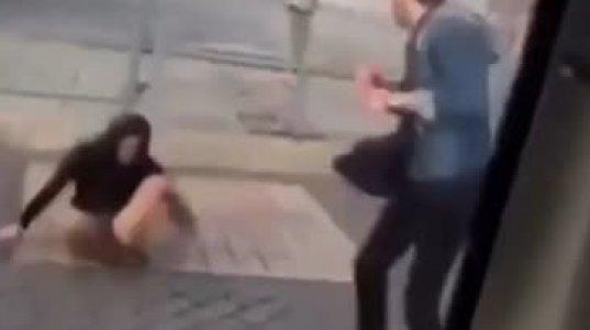"""ცეკვისას ბიჭმა გოგო უნებურად ნოგდაუნში ჩააგდო, ისე """"ჩააფარა"""" სახეში"""