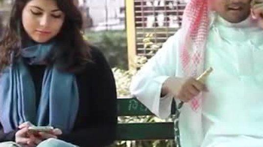 """გოგოს """"შებმა"""" არაბულად"""