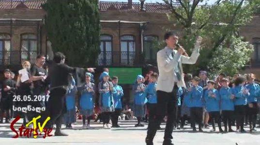"""26 მაისისადმი მიძღვნილი ფესტივალი """"მზიანი საქართველო"""" სიღნაღში"""