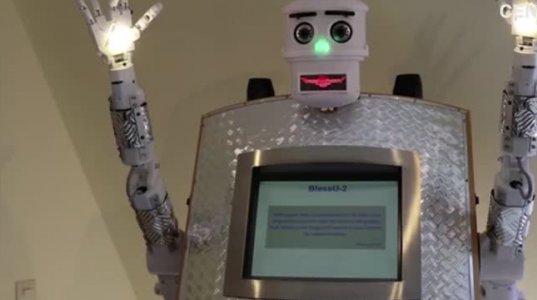 გერმანიაში მღვდლის მოვალობას რობოტი ასრულებს