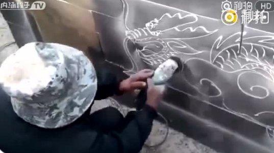 """""""ბარგალკით"""" ხატვა"""