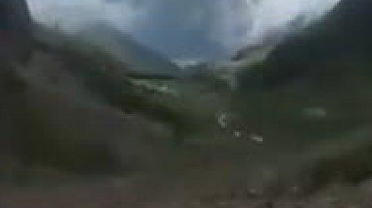 მთის მდინარე,რომელიც არსაით მიედინება