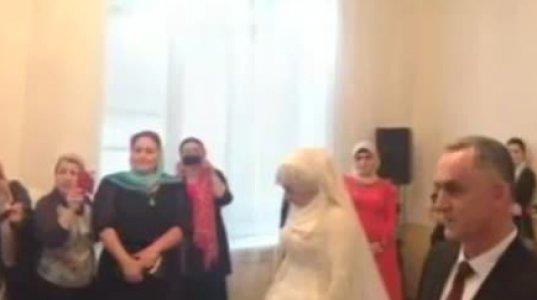 სკანდალური ქორწილი ჩეჩნეთში! 17 წლის გოგონა 57 წლის მამაკაცს გაჰყვა ცო