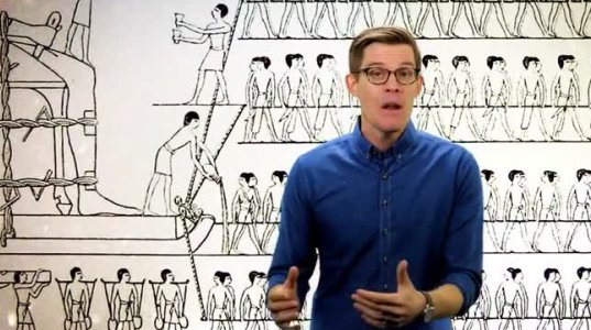 როგორ აგებდნენ ხეოფსის პირამიდას