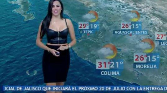 უკვე ვხვდები რომ მექსიკაში ძალიან უყვართ ამინდის პროგნოზის ყურება