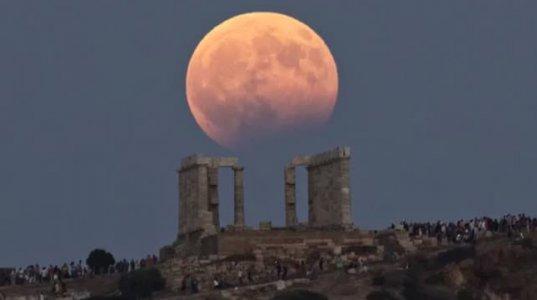 მთვარის დაბნელებას ათასობით ადამიანი ადევნებდა თვალს