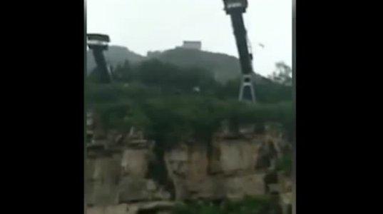 ჩინეთში 17 წლის გოგონა  თოკით ხტომისას 50 მეტრის სიმაღლიდან ჩავარდა