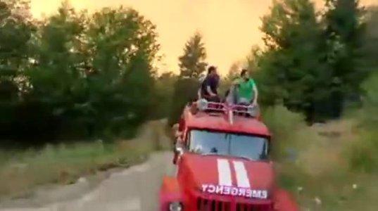 როგორ ებრძვიან ხანძარს-ვიდეორეპორტაჟი ბორჯომის ხეობიდან