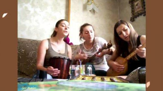 გოგონების შესრულებული ლამაზი ქართული სიმღერა
