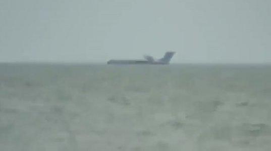 თვითმფრინავი წყალზე დაეშვა მსგავსი რამ ნანახი არ გექნებათ!