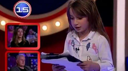 გააცინე და მოიგე - 7 წლის პატარა მეგრელის - თიკო ბულია