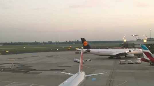 AIR BERLIN-ის პილოტმა აეროპორტის თავზე  შოკისმომგვრელი მანევრი გააკეთა