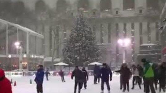 თოვლთან ერთად სასიამოვნო ზამთარი