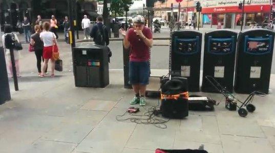 ქუჩაში შესრულებული შესანიშნავი მუსიკა
