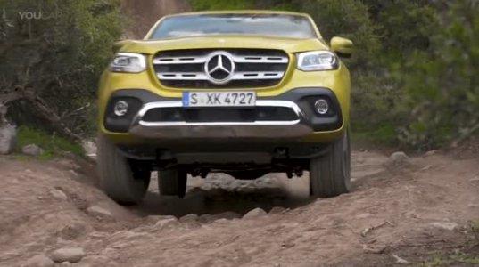 Mercedes X test drive
