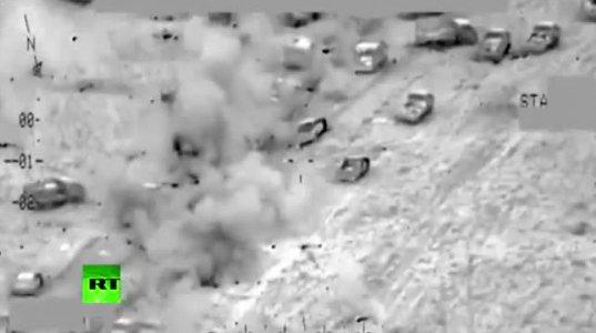 """რუსებმა ერაყის ავიაციის  ნამოქმედარი """"ისისის"""" წინააღმდეგ მიითვისეს"""