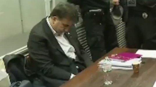 მიშას ასეთი მოქმედება სასამართლო დარბაზში გამოწვეულია სავარაუდოდ ნარკოტიკით