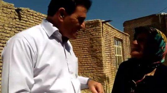 """ბატონი Hamid Reza Aslani და ფერეიდნელი ბებო, რომელიც შესანიშნავად """"უბნობს"""" (საუბრობს) ქართულად..."""