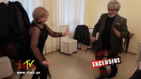 72 წლის თემურ წიკლაურის ენერგიული და სიცოცხლით სავსე ცეკვა
