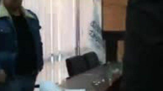 """ინციდენტი საპარტნიორო ფონდში - """"ქართული მარში"""" საგანელიძეს შეუვარდა (ვიდეო)"""