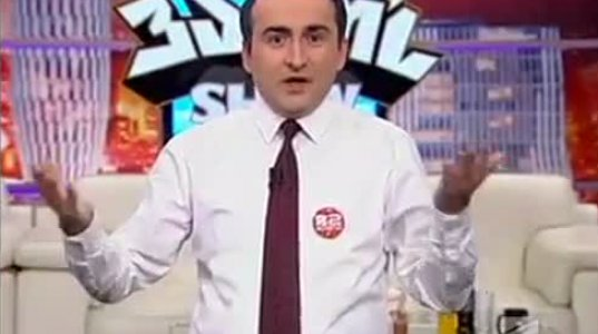 """ვანოს შოუ-მონოლოგი ტელე """"იმედის"""" რეიტინგზე და თურქულ სერიალებზე"""