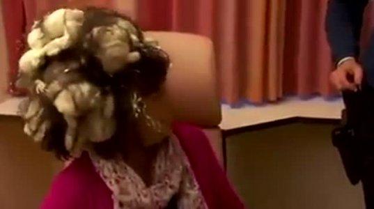 თმის ქაფი აერია სამშენებლო ქაფში