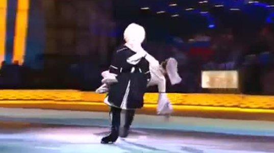 არაჩვეულებრივმა, ქართულმა ცეკვამ ყინულზე, თამარიკო გვერდწითელის შექება დაიმსახურა