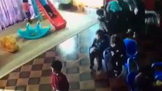 ძალადობა ბავშვზე თბილისის ერთ-ერთ ბაღში
