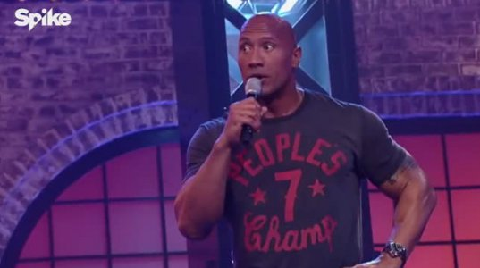 Shake it off- Dwayne Johnson Lip Sync Battle