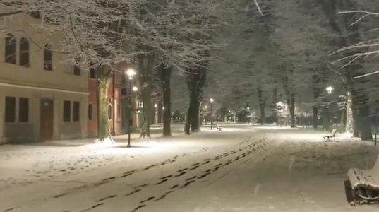 ვენეციაში  თოვლი მოვიდა-ულამაზესი ქალაქის გასაოცარი ხედები