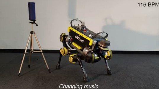 რობოტს ინჟინრებმა ცეკვა ასწავლეს