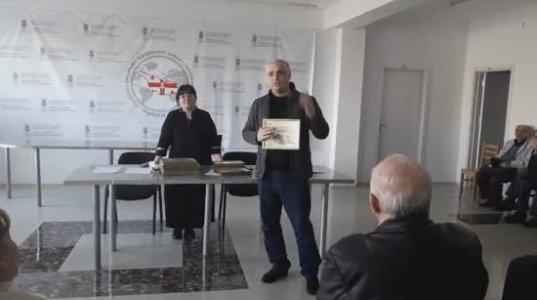საქართველოს დამსახურებული ჟურნალისტი - ბესო ჩუბინიძე