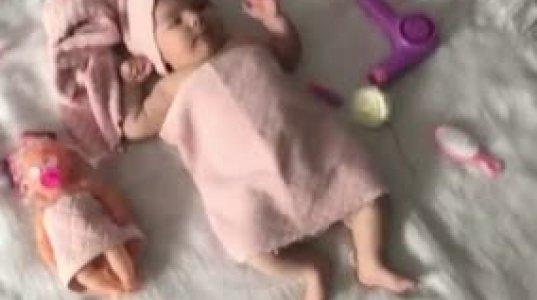 თამო ვაშალომიძის შვილის პირველი ფოტოსესია (ვიდეო)