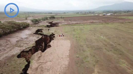 აფრიკის კონტინენტი ორ ნაწილად იყოფა-ნახეთ ვიდეო მასალა