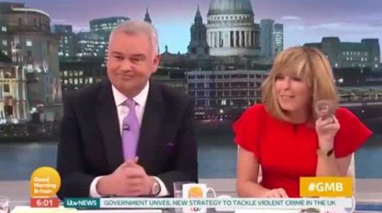 ბრიტანელ ტელეწამყვანს ბიგუდის მოხნა დაავიწყდა პირდაპირ ეთერში