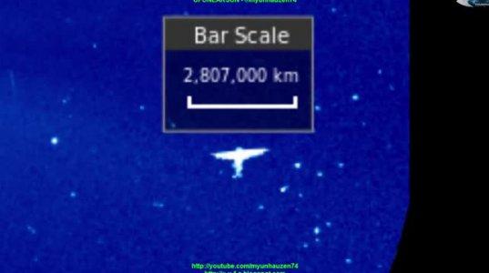 "NASA კვლევითი ცენტრის ფოტოებზე მკვლევარებმა ""გიგანტური ანგელოზი"" აღმოაჩინეს"