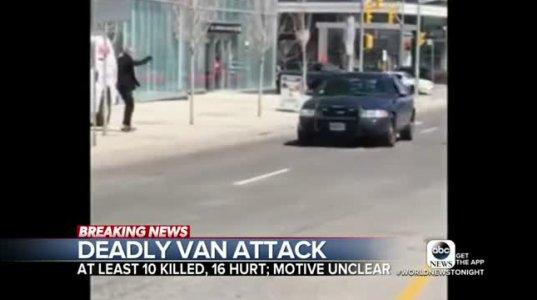 ტრაგედია ტორონტოში-10 გარდაცვლილი და 15 დაშავებული - სატვირთო მანქანამ ფეხით მოსიარულეები გადათელა
