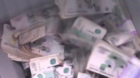 იმდნი ყალბი ფული ამოიღეს რუსეთში სპეციალური დანადგარით ანადგურებენ