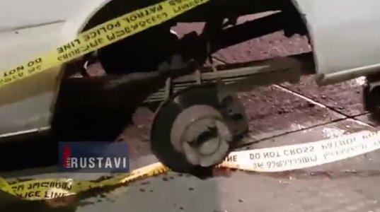 ავარია მაგისტრალზე, მიკრო-ავტობუსს საბურავი მოძვრა