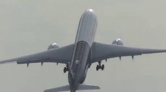 აირბუსმა- A350 XWB-მა მეტად სახიფათო  ვერტიკალური მანევრი შეასრულა(ბერლინის ავიაშოუ)
