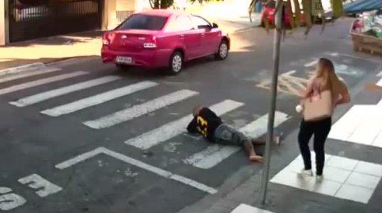ბრაზილიაში ქალმა მძარცველს ესროლა