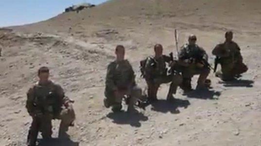 ღმერთმა შეისმინოს თქვენი ლოცვა ბიჭებო, ქართველი სამხედროები ლოცულობენ