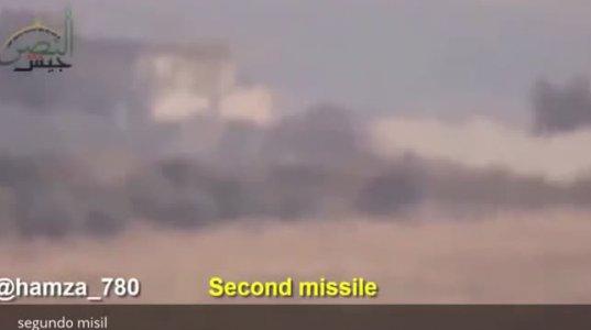 სირიის არმიის ტანკი მართვადი რაკეტისაგან მძღოლ–მექანიკოსის რეაქციამ იხსნა